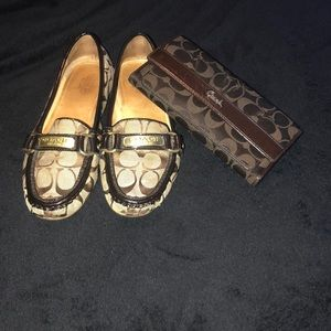 Shoes and Wallet
